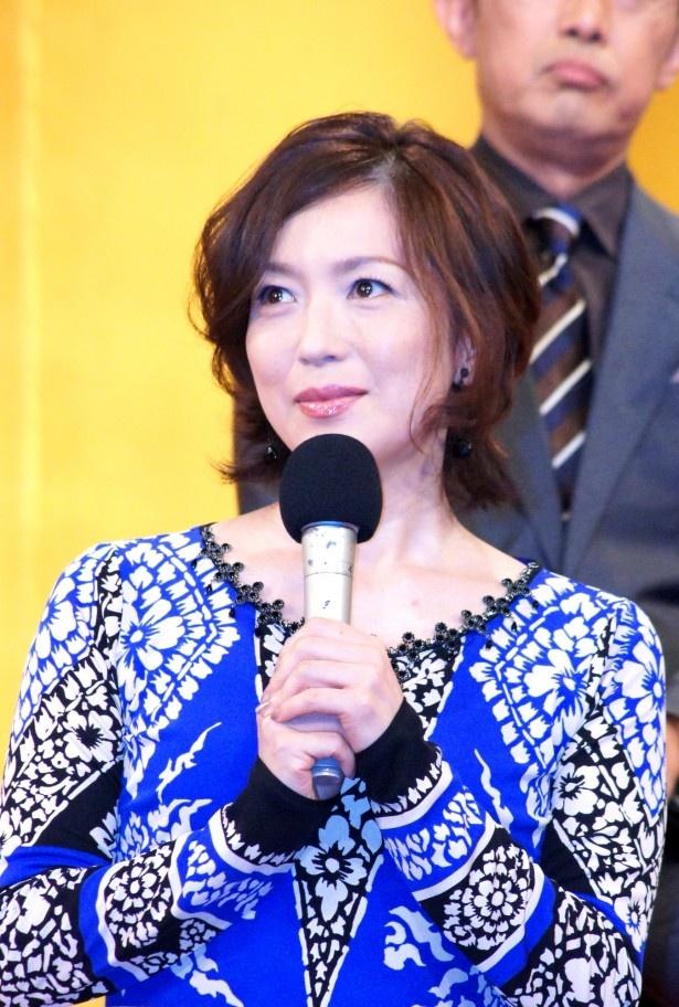 若村は長州藩の重臣・椋梨藤太の妻・椋梨美鶴を演じる