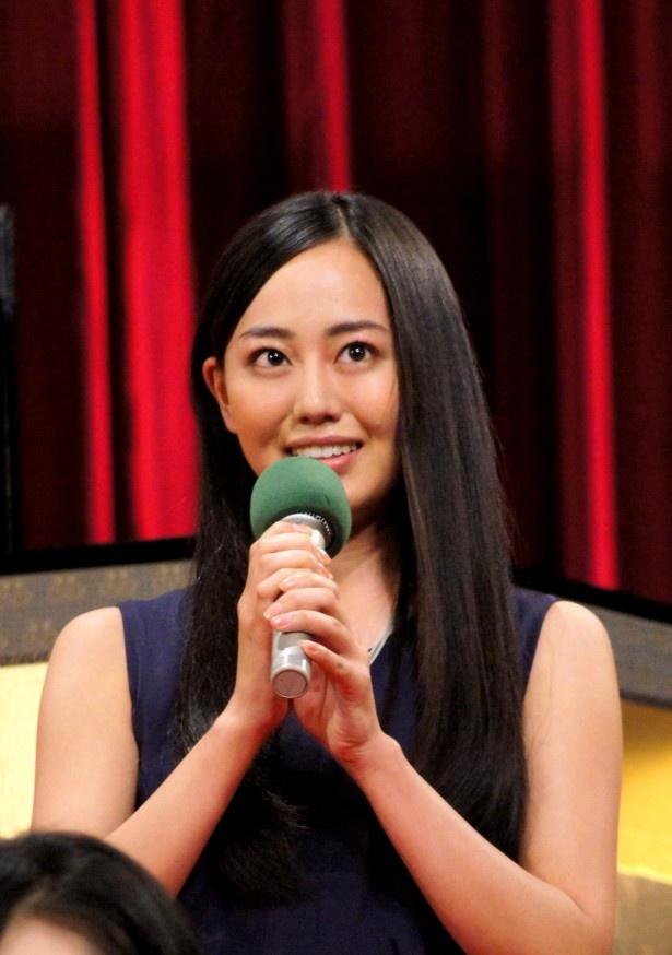 宮崎は伊藤博文の最初の妻・入江すみを演じる