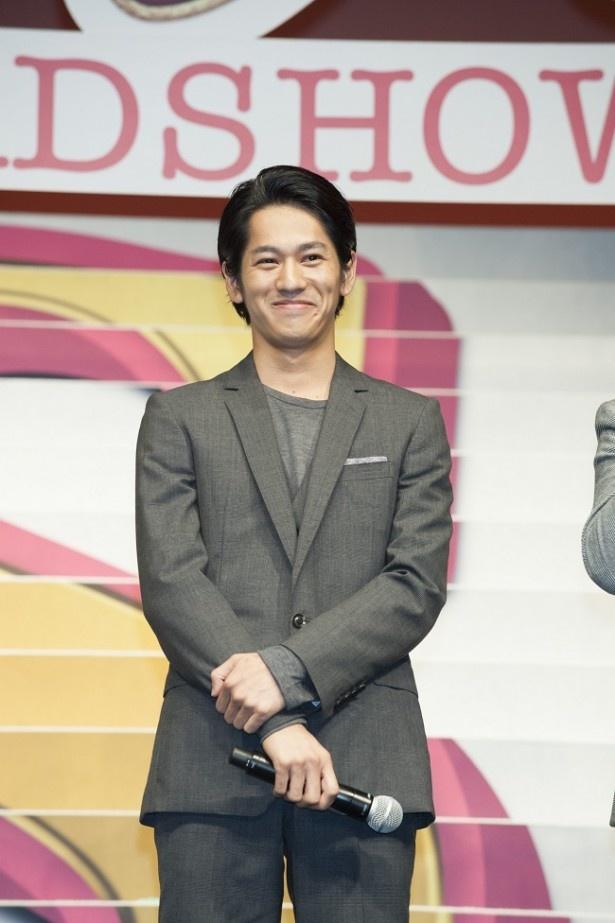 武井演じる沙耶の初恋の相手を演じた永山。今回は「優しさって何なんだ?と考えながら演じました」