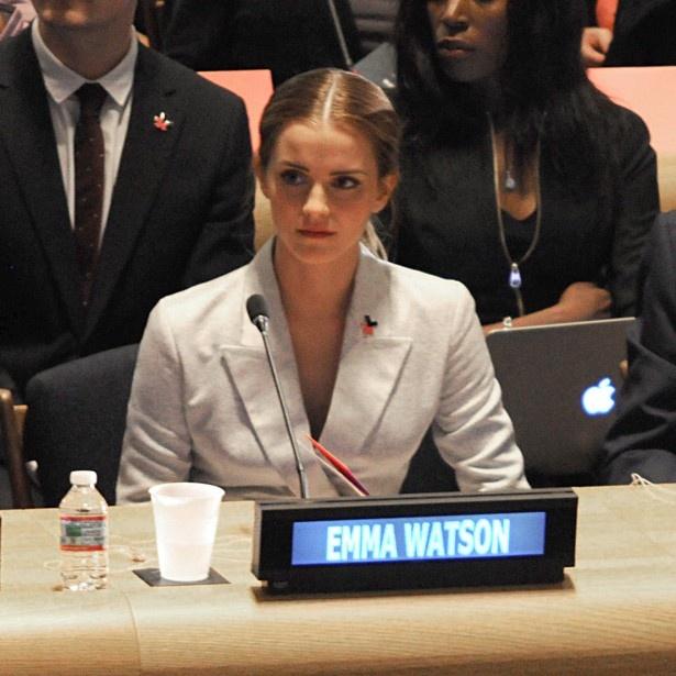 【写真を見る】国連でのフェミニスト発言の報復か
