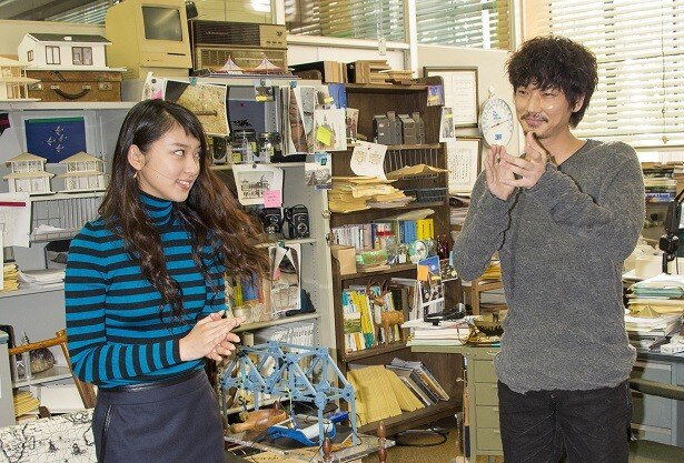 武井咲と綾野剛がスーパー理系コンビを結成!「すべてはFのために」