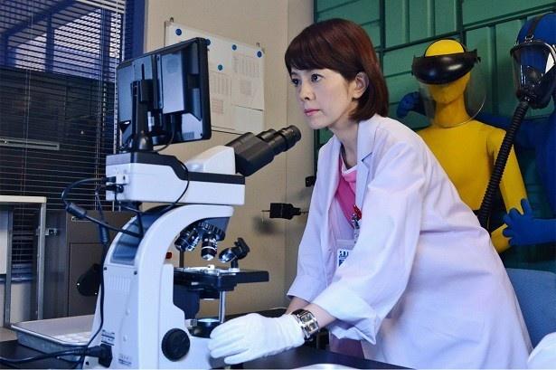 最新の科学捜査で難事件を解明する第14シリーズ「科捜研の女」