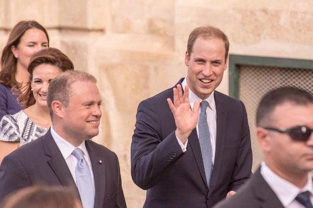 キャサリン妃の代わりにマルタ島での式典に出席したウィリアム王子