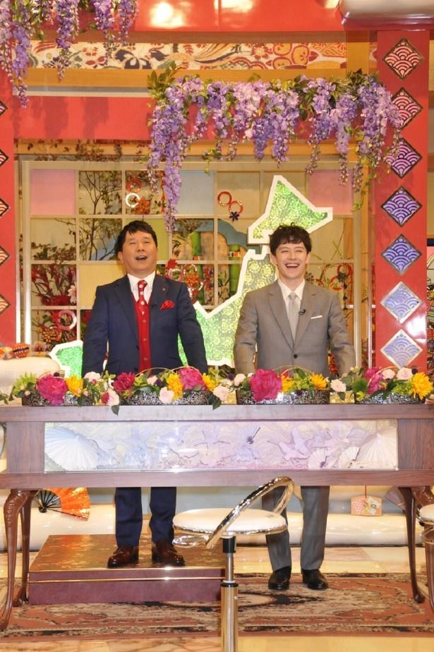 【写真を見る】田中が「ウエンツが小さく見える」と番組の工夫を暴露する