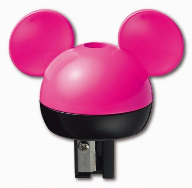 キュートなミッキーマウス形の鉛筆削り「ケズリキャップ ミッキー」