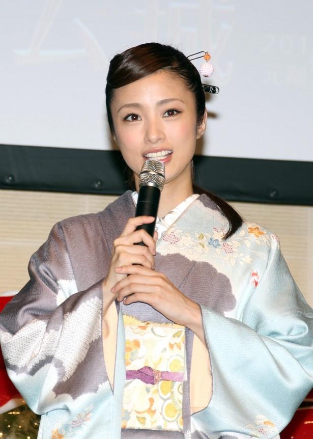 京都について「大好きな街ですね」と笑顔で語る