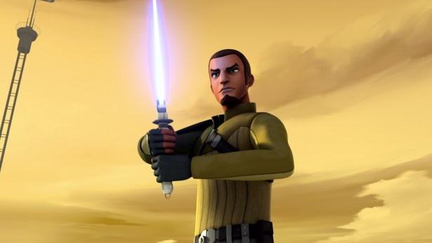 ライトセーバーを構えるのは新たなジェダイの騎士か、それとも暗黒の戦士なのだろうか!?