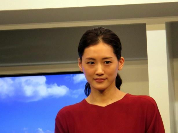 綾瀬はパナソニックの新プロジェクト「ビューティフルジャパン」のアンバサダーを務める