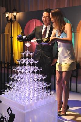 シャンパンタワーセレモニー