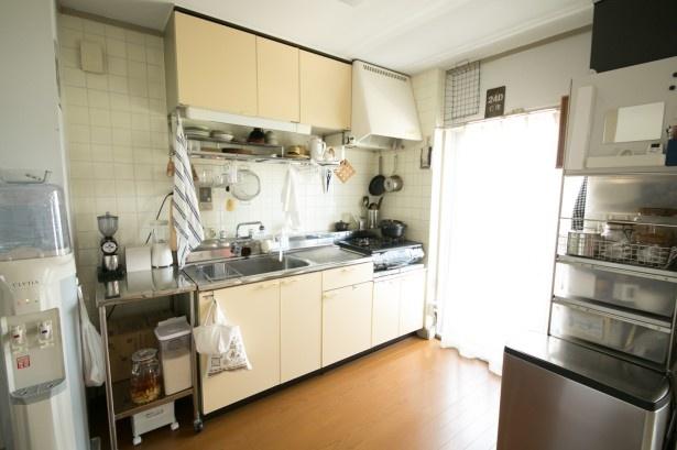 適材適所にものが整理整頓されている本多さん宅のキッチン。
