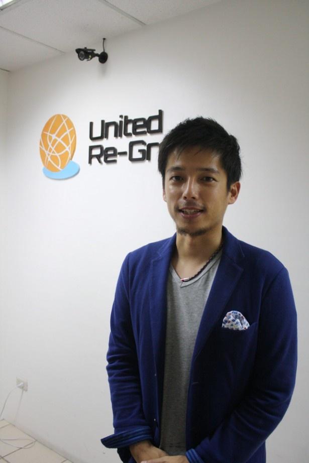 語学学校「MBA」の経営者の一人、渡辺和喜さん。2年前に会社を辞め、自らセブ島留学をした経験から社会人限定スクールを思いついたそう