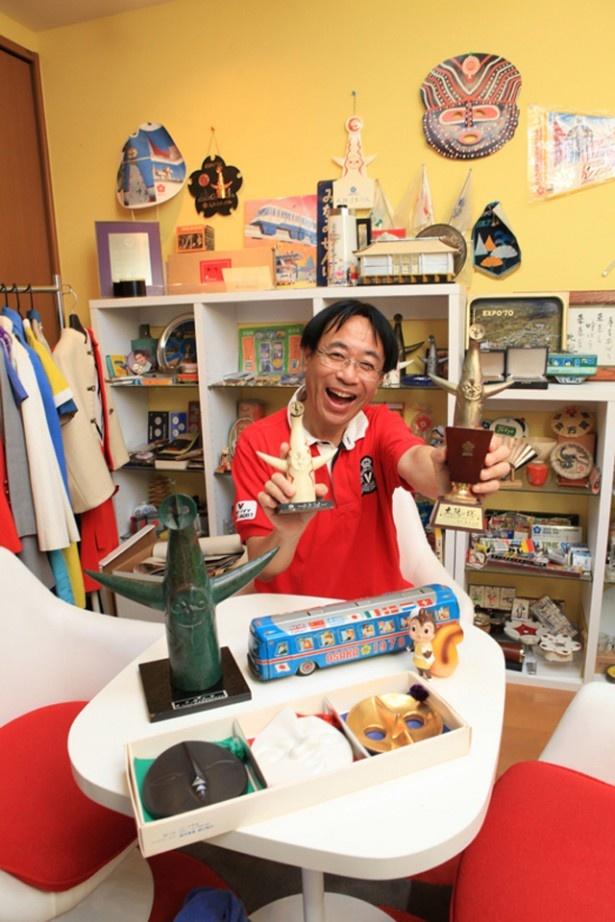 2002年に万博ミュージアムを開館した日本最強のコレクターこと白井達郎さん