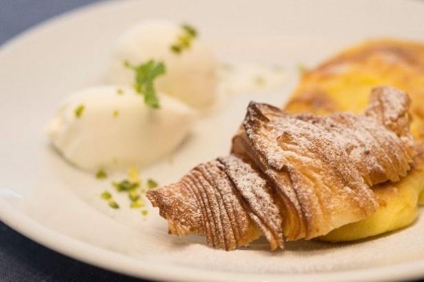 「ゴントラン シェリエ渋谷店」では、クロワッサンを使用したフレンチトーストを食べられる