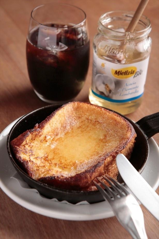 表参道にある「パンとエスプレッソと」の食パンを使ったフレンチトースト
