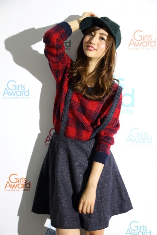 「GirlsAward 2014 AUTUMN/WINTER」でモデルとして初の大舞台に臨んだ堀田茜