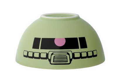 量産型ザクがデザインされた茶碗