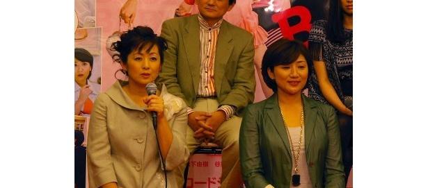 3人の子持ちなのに不妊症の主婦役の斉藤由貴と、4人の子持ちの主婦役松下由樹