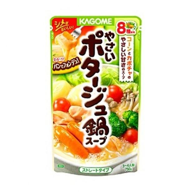 今回使用した「やさいポタージュ鍋スープ」