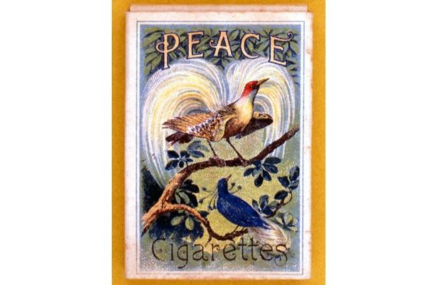 欧州大戦終息記念に発売された「ピース」は大正時代のたばこ