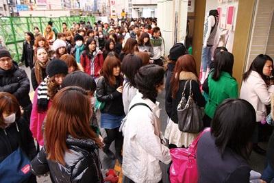 ルミネ新宿に旋風が巻き起こり中!?