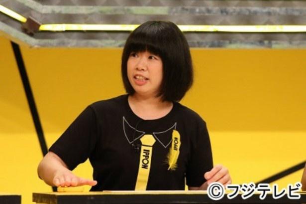 「IPPONスカウト」を制し、11月8日(土)放送の「IPPONグランプリ」への出場権を獲得した伊藤修子