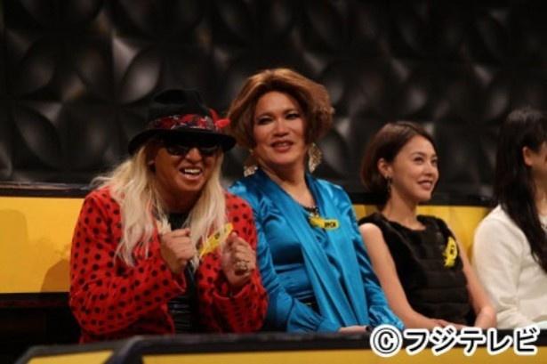 「IPPONグランプリ」の観覧ゲストは(左から)DJ KOO、IKKO、浅見れいなら8人