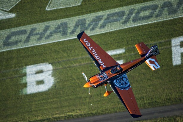 今大会で優勝を飾ったニコラス・イワノフ選手の予選フライト