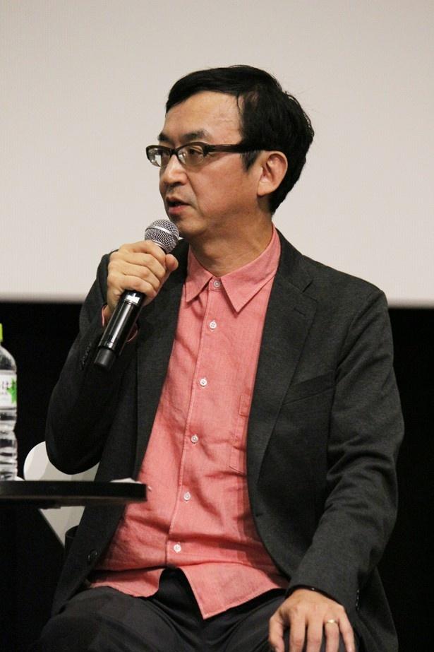 全5回にわたるトークショーの対談相手を務めた特撮・アニメ研究家の氷川竜介