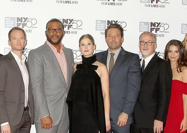 ニューヨーク映画祭のレッドカーペットに登場したスタッフ&キャスト陣