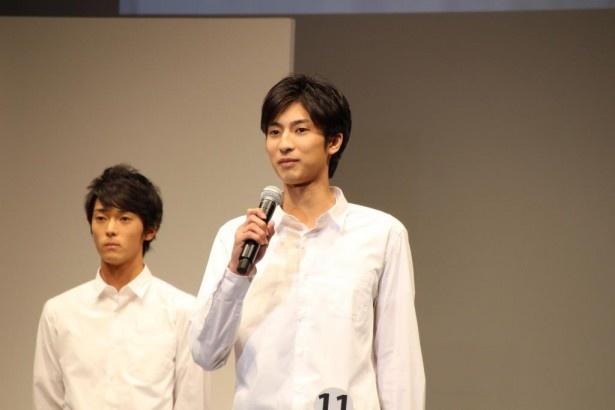 エントリーNo.11の千葉県出身、馬場貴志(21)
