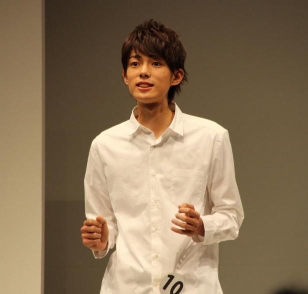 エントリーNo.10の東京都出身、田中樹(15歳)