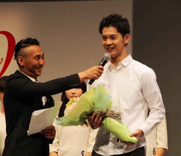 審査員が審査中に設けるとこを決めたという「審査員特別賞」を受賞した飯作雄太郎