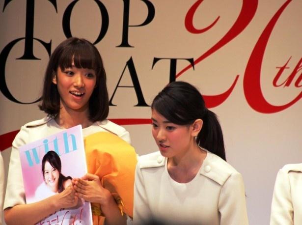 グランプリを獲得した瞬間の小林京香は、耳を疑うような表情を浮かべていた