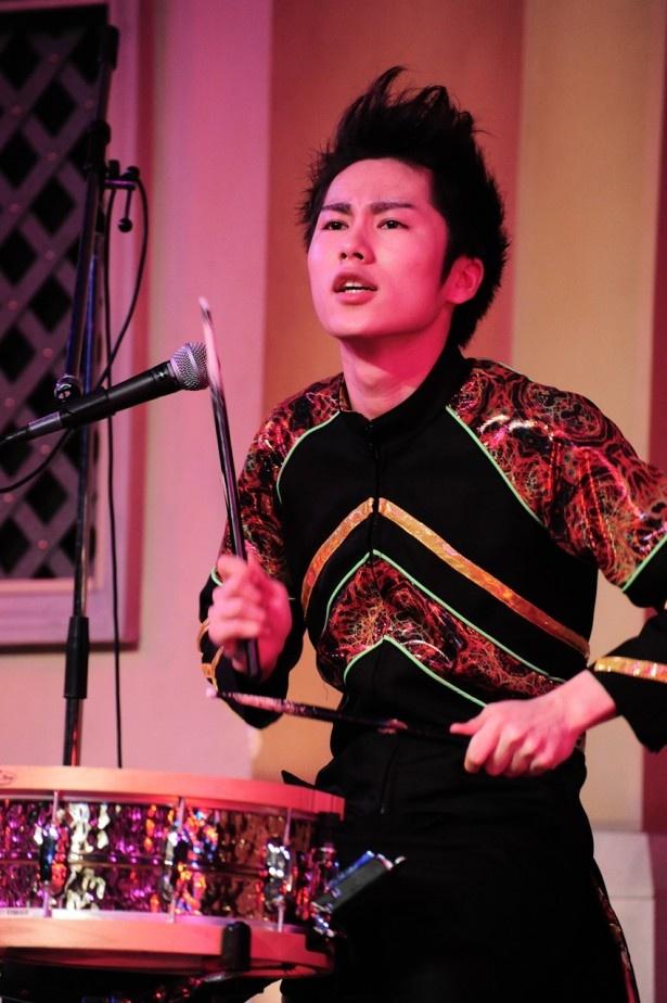 カスタマイZのDAICHI(ドラム)