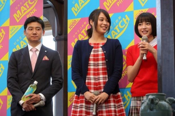 イベントに登場した広瀬姉妹