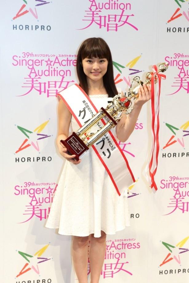 第39回ホリプロタレントスカウトキャラバン「Singer☆Actress Audition ~美唱女~」でグランプリを獲得した生田若菜