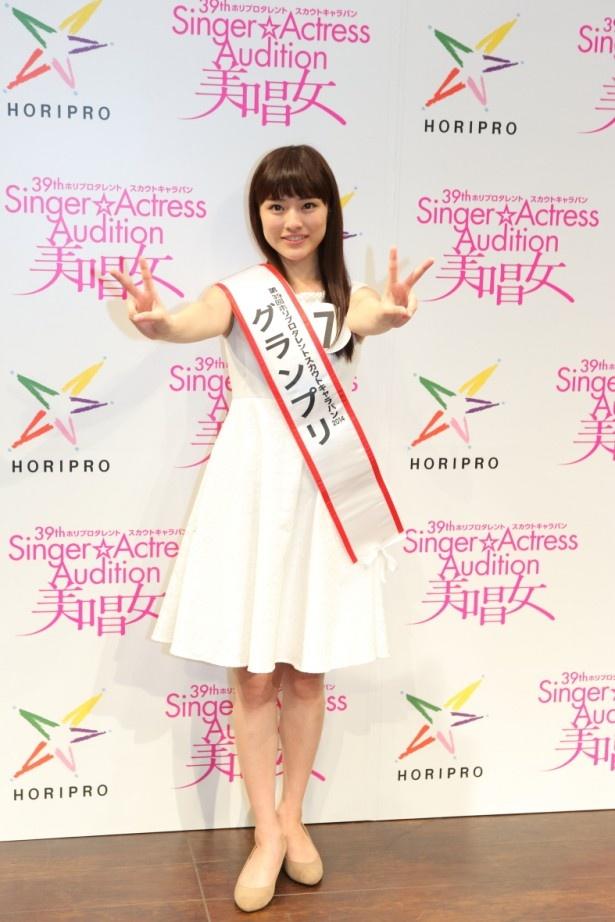 生田にはagehasprings(アゲハスプリングス)プロデュースによるCDデビューと女優デビューが約束されている