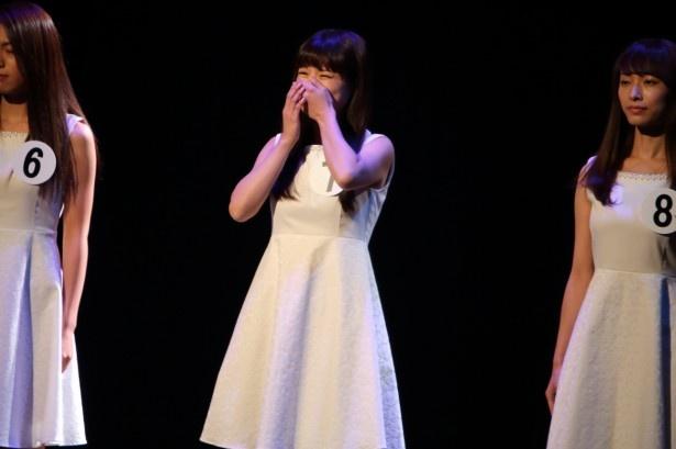 グランプリに輝いた瞬間の生田若菜