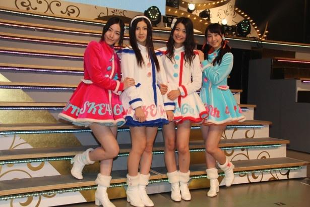 松井珠理奈、玲奈が支える新センター擁するSKE48のニューシングル「12月のカンガルー」は12月10日(水)発売