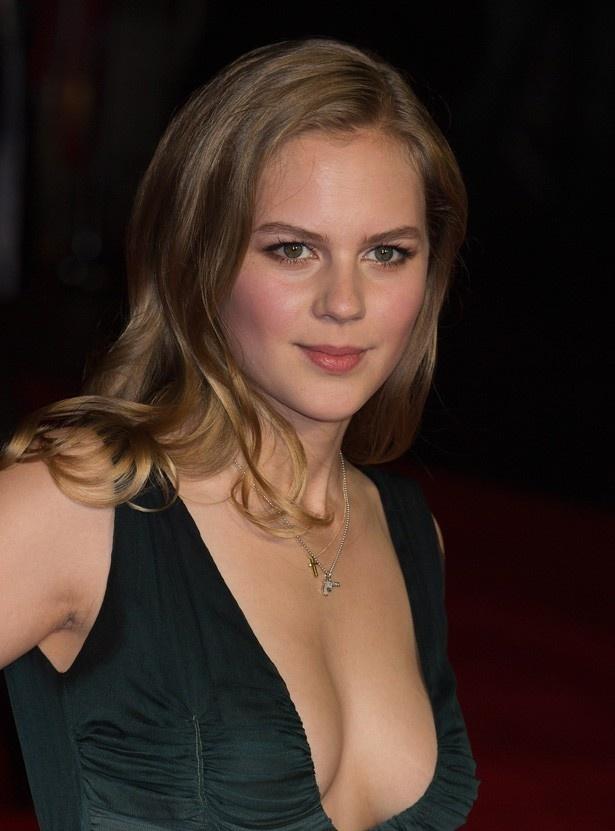 ロンドン国際映画祭に登場したドイツの若手女優アリシア・フォン・リットベルク
