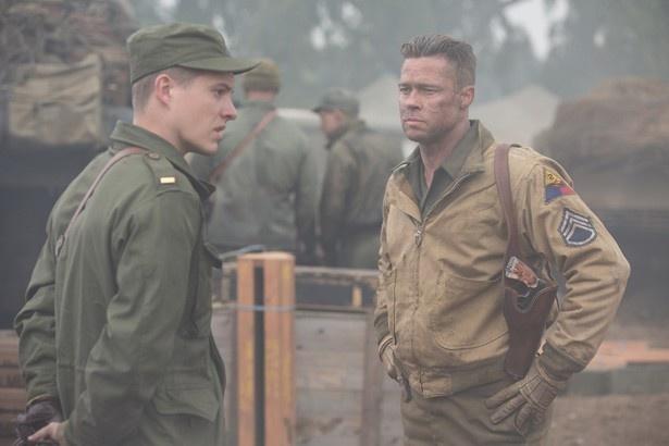 来日予定のブラピが演じるのは、厳しいが男気と人情のある戦車長