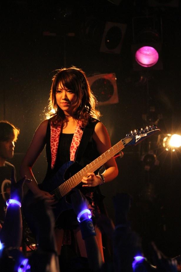 宮澤茉凜は「自分たちの意見をライブに落とし込められた」と振り返る