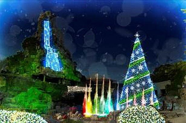 大阪府下最大級、約100万球のイルミネーションが彩る「妖精の楽園」エリア