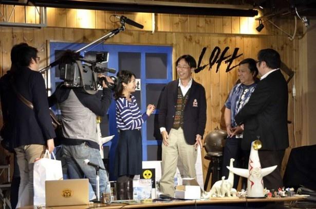 会場には朝日放送「おはよう朝日です」の取材も入った。この模様は11/6(木)放送予定
