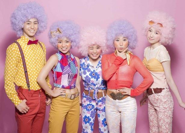 デビュー5年目にして初のオリコン1位を獲得した男女5名のダンスユニット・Dream5