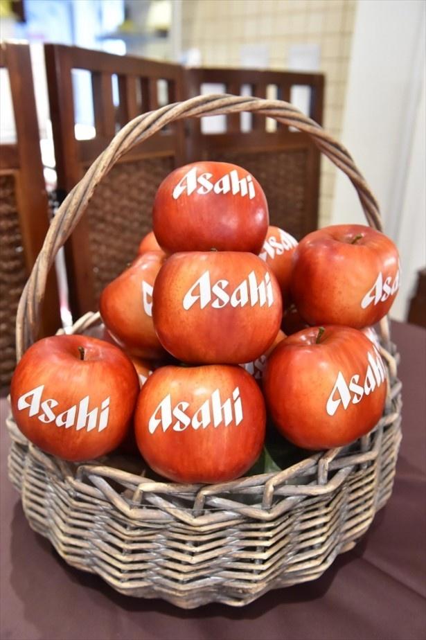 同カフェを手掛けたアサヒグループは、75年以上前からリンゴの研究をスタート