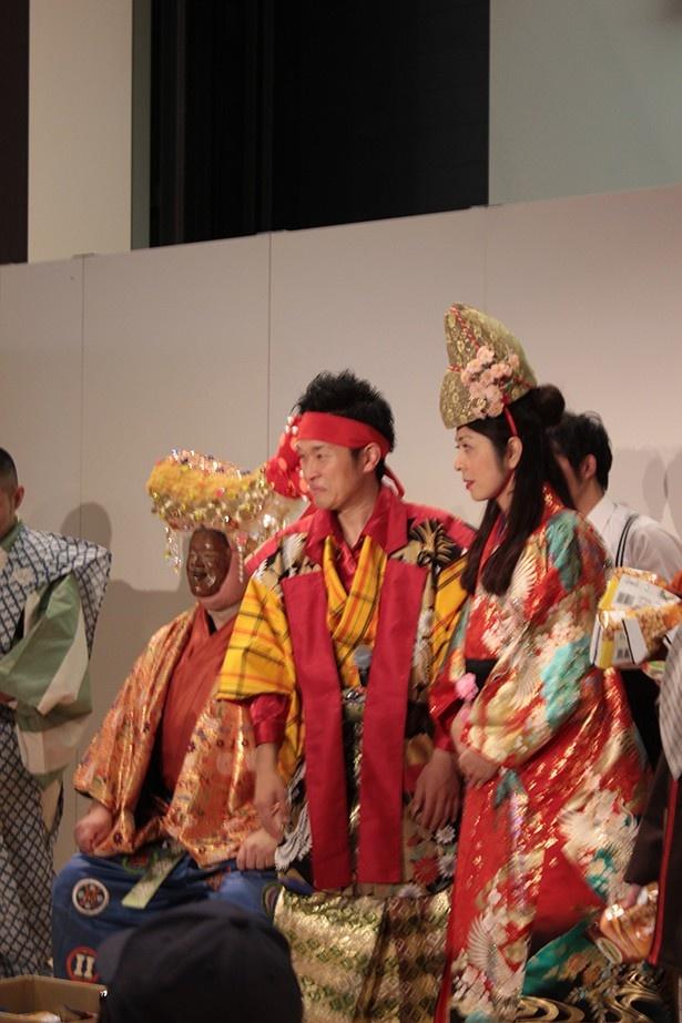 【写真を見る】「やっとかめ文化祭」オープニングイベントは大勢で華やかに行われた