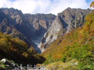 5位は日本百名山のひとつ、谷川岳(群馬県利根郡みなかみ町)。標高は1977m
