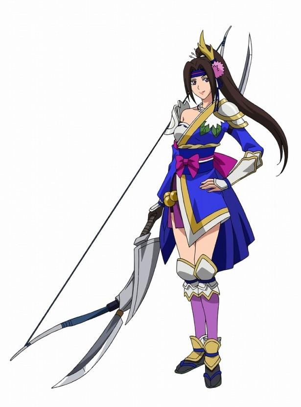 大本眞基子が声を演じる稲姫。清楚な大和撫子