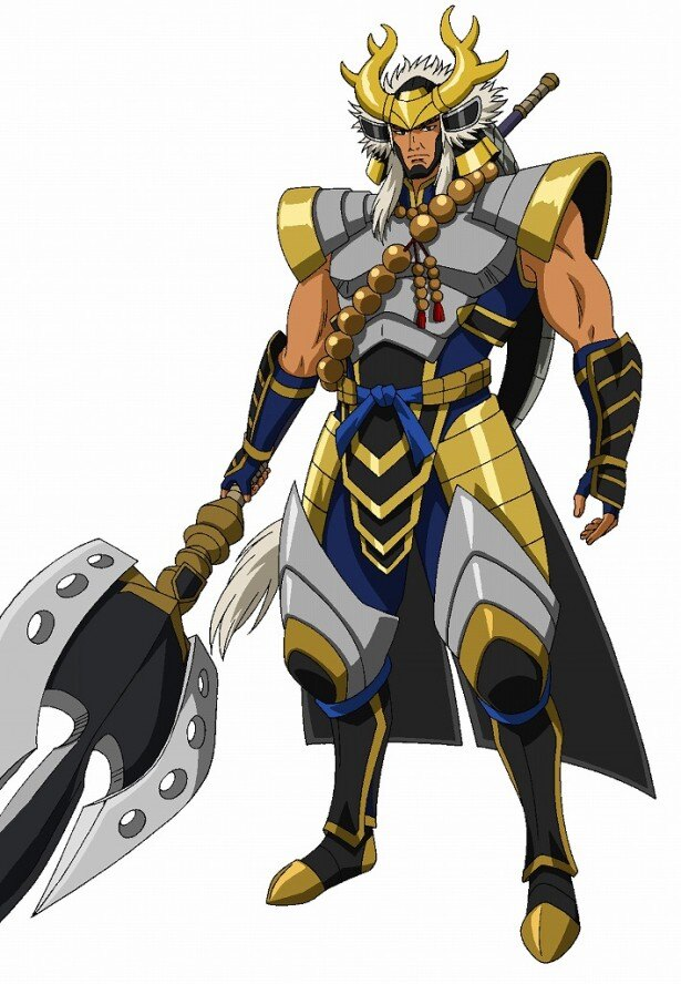 大塚明夫が声を演じる本多忠勝。徳川軍随一の猛将